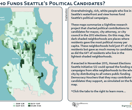 Seattle Political Map.Seattle Green Life Buzz